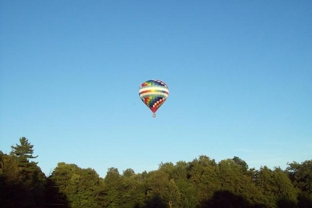 Hot air balloon, submitted by Darryl Miller