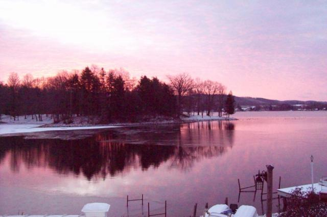Early Winter Sunrise, submitted by Darryl Miller