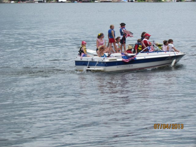 July 4th, 2013 Boat Parade, submitted by Ed Sick